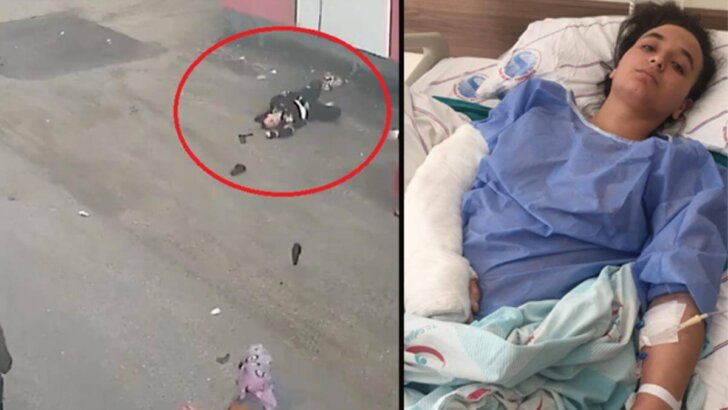 Gördüğü şiddeti kaldıramayıp balkondan atlayan kadın gözyaşları içinde yaşadıklarını anlattı: Bacağımı ısı…