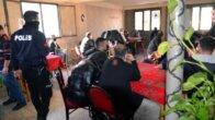 Güvenlik kamerasıyla önlem alınan kafeye polis baskını