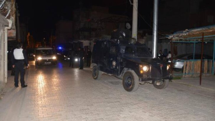 Havaya ateş açan magandalar, mahalle bekçilerine saldırdı: 1 bekçi yaralı
