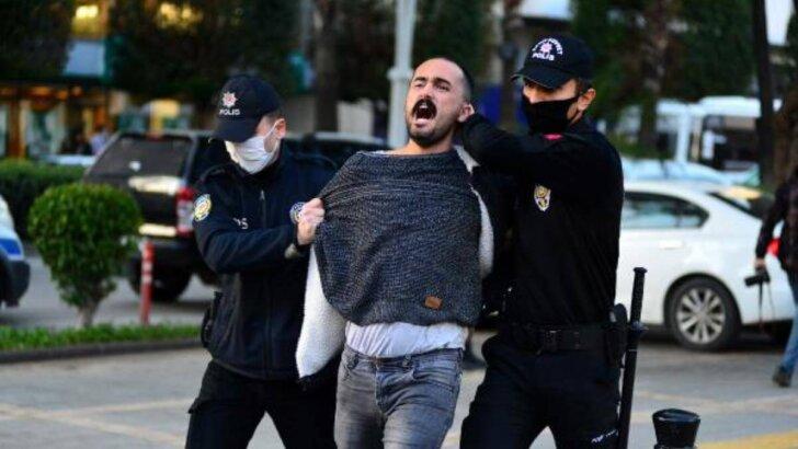 Boğaziçi Üniversitesindeki olaylara ilişkin Adana'da izinsiz gösteri yapmak isteyen 10 şüpheli yakalandı