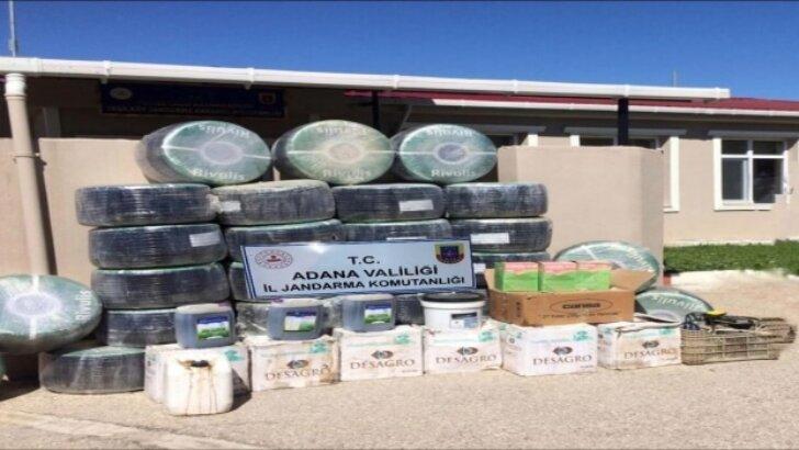 Adana'da çaldığı damlama sulama sistemlerini internetten satışa çıkaran zanlı yakalandı