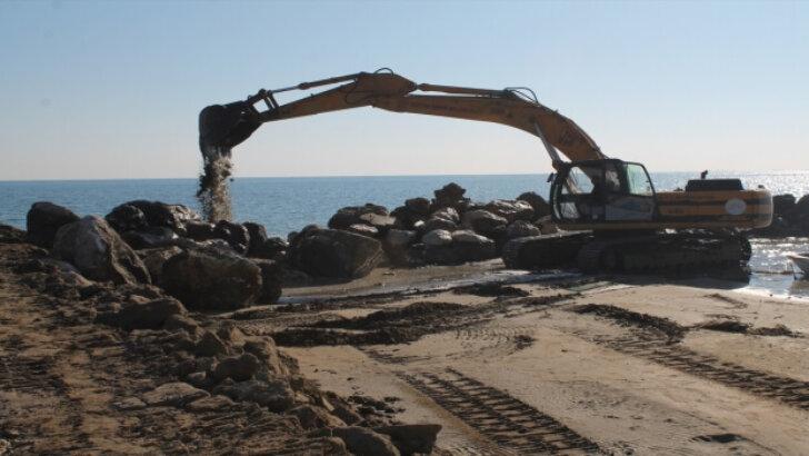 Yumurtalık Balıkçı Barınağı'ndaki çalışmalarda sona gelindi