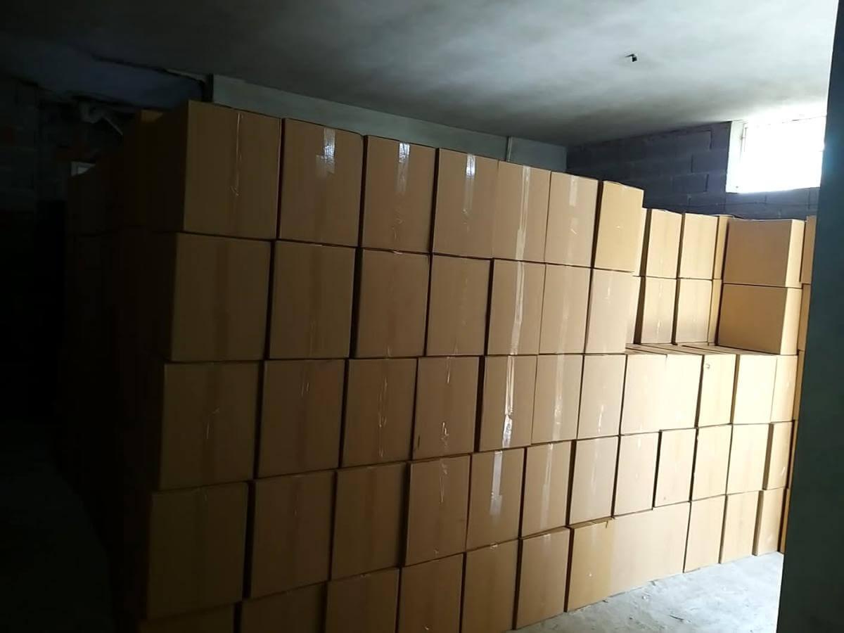 Adana'da 10 milyon kaçak makaron ele geçirildi