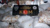 Adana'da 4 milyon 950 bin kaçak makaron ele geçirildi