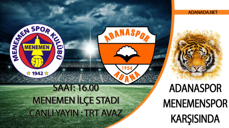 Adanaspor, Menemen Deplasmanında
