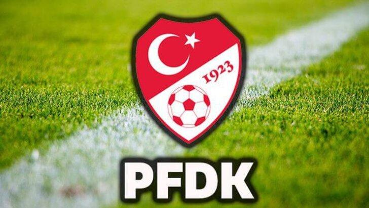 PFDK'den İki Takımımıza Ceza