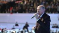 Cumhurbaşkanı Erdoğan, AK Parti'nin 7. Olağan Büyük Kongresi'nde salondakilere sesleniyor
