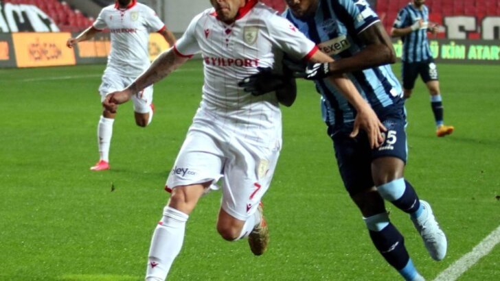 TFF 1. Lig: Samsunspor: 0 Adana Demirspor: 2