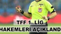 1. Lig'de 25. hafta maçlarını yönetecek hakemler açıklandı
