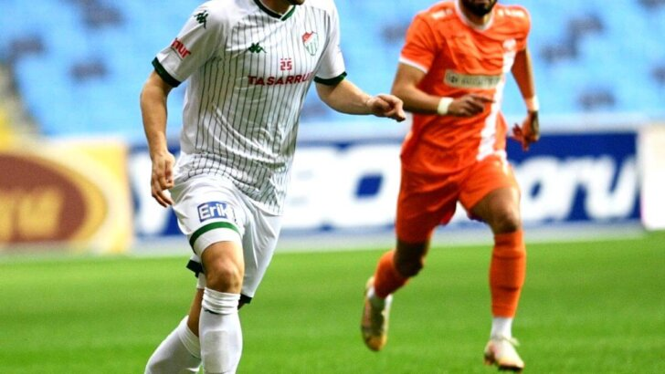 TFF 1. Lig: Adanaspor: 0 Bursaspor: 3