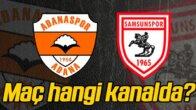 Adanaspor, yarın kendi evinde Samsunspor ile karşı karşıya gelecek.