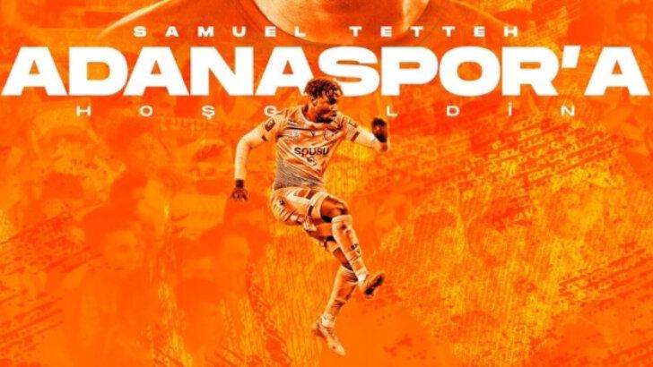 Samuel Tetteh Adanaspor'da