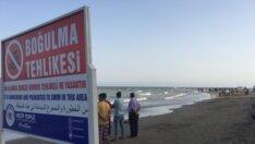 Adana'da denize giren kişi boğuldu