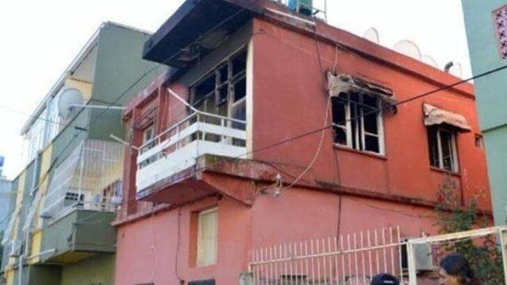Adana'da evde çıkan yangında 2 kardeş yaralandı