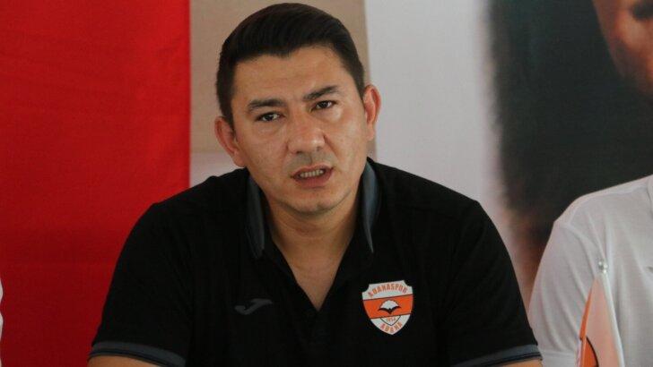 Fırat Gül: 'Adanaspor'a mazeret üretmeye gelmedim'