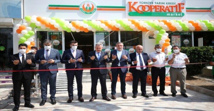 Tarım Kredi Kooperatif Market'in 365'inci şubesi Adana'da açıldı