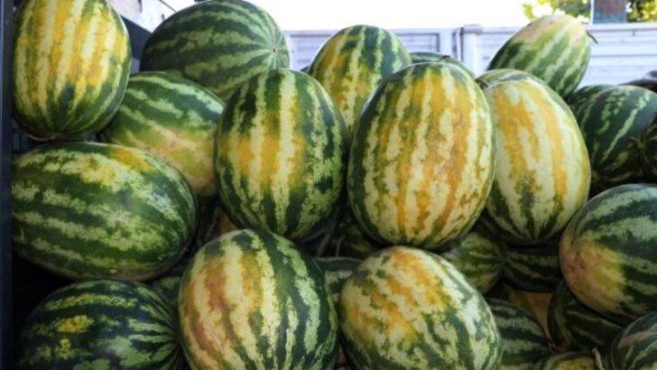 Adana'da aşırı sıcak meyve ve sebzeleri yaktı