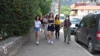 Kozan'da yılın ilk turist kafilesi coşkusu