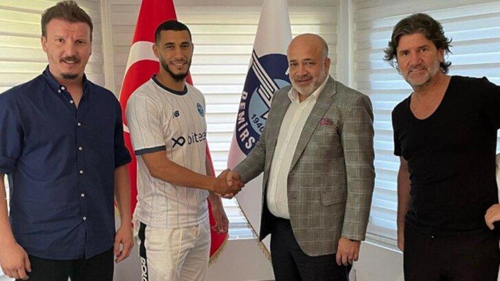 Younes Belhanda: Kanımda Adana Demirspor'un renklerini taşıyorum