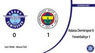 Adana Demirspor 0 – Fenerbahçe 1