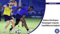 Adana Demirspor, Konyaspor maçının hazırlıklarına başladı