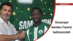 Giresunspor, Adana Demirspor'dan Hamidou Traore'yi kadrosuna kattı