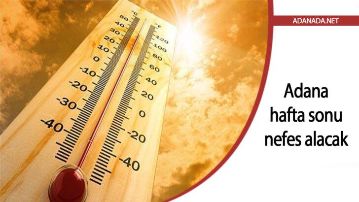 Kavurucu sıcakların etkisindeki Adana, hafta sonu nefes alacak