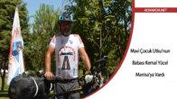 Kök hücre bağışına dikkati çekmek için Adana'dan yola çıkan bisikletli Manisa'ya ulaştı