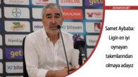 Samet Aybaba: 'Adana Demirspor, ligin en iyi oynayan takımlarından olmaya aday'