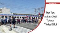 Tren Ters Makasa Girdi, Yolcular Tahliye Edildi