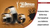 Uluslararası Adana Altın Koza Film Festivali'nde onur ödüllerinin sahipleri belirlendi