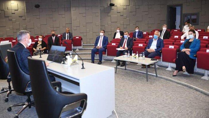 Uluslararası Adana Lezzet Festivali için hazırlık toplantısı yapıldı