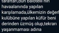 Adana Demirspor Başkanı Murat Sancak, Fenerbahçe'den özür diledi
