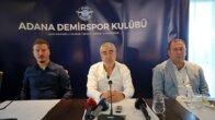 Adana Demirspor Teknik Direktörü Samet Aybaba'nın hedefi Süper Lig'de kalıcı olmak