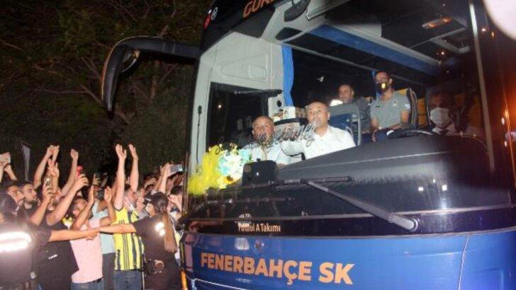Fenerbahçe kafilesi, Adana'ya geldi