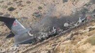 Kahramanmaraş'ta düşen yangın söndürme uçağının enkazına ulaşıldı