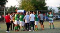 Kozan'da köy takımlarından anlamlı saygı duruşu