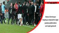 Adana Demirspor, Beşiktaş'ın Balotelli ile ilgili yaptığı açıklamalara sert tepki gösterdi