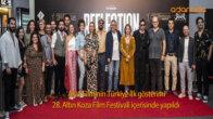 'Akis' Filminin Türkiye İlk gösterimi, 28. Altın Koza Film Festivali içerisinde yapıldı