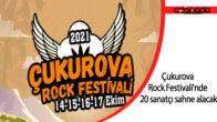 Çukurova Rock Festivali'nde 20 sanatçı sahne alacak