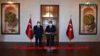KKTC Başbakanı Ersan Saner, Adana Valiliğini ziyaret etti