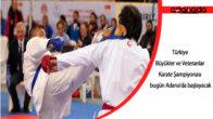 Türkiye Büyükler ve Veteranlar Karate Şampiyonası bugün Adana'da başlayacak