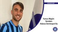 Yunus Akgün Yeniden Adana Demirspor'da