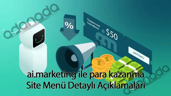 ai.marketing ile para kazanma – Site Menüsü